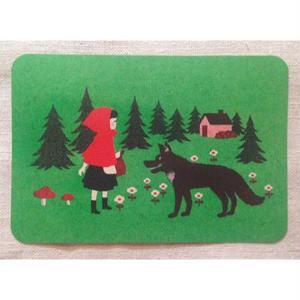 オリジナルポストカード・赤ずきん2・2枚