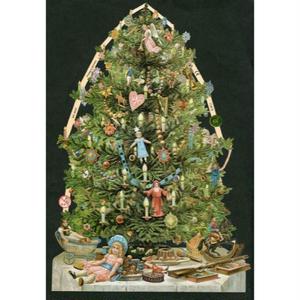 スクラップピクチャー・クリスマスツリー3