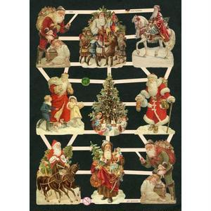 スクラップピクチャーズ・サンタと馬