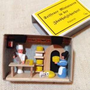 マッチ箱96・チーズ屋さん