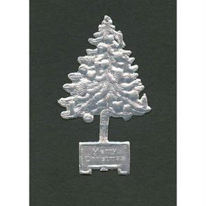 ドレスデントリム・クリスマスツリーシルバー