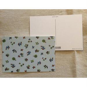 オリジナルポストカード・リスと鳥・2枚