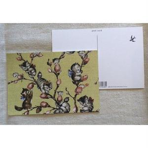 オリジナルポストカード・ねこやなぎ・2枚