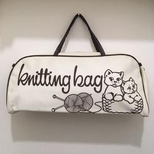 ネコのニッティングバッグ
