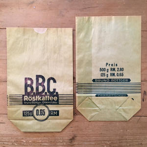 ドイツの紙袋 B.B.C.(1枚)