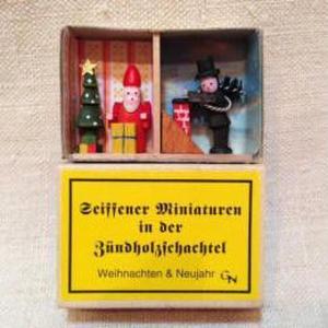 マッチ箱52・サンタと煙突掃除