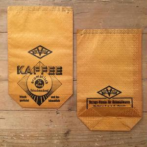 ドイツの紙袋 KAFFEE(1枚)