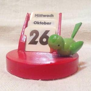 小鳥の卓上カレンダー800