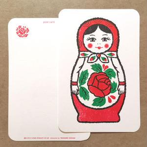オリジナルポストカード・マトリョーシカ 1P・2枚