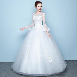 20代 純白のプリンセスドレス