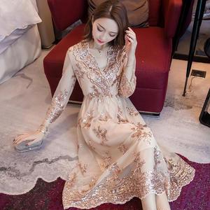 パーティードレス 結婚式 二次会 ワンピース 結婚式ドレス お呼ばれワンピース お呼ばれドレス 20代 30代 40代 袖あり ミモレ丈