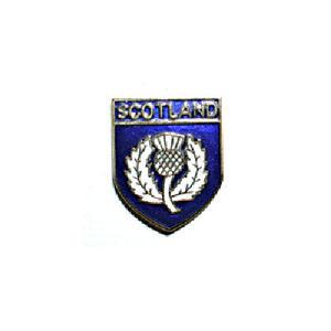 ピンバッジ:スコットランド あざみのエンブレム