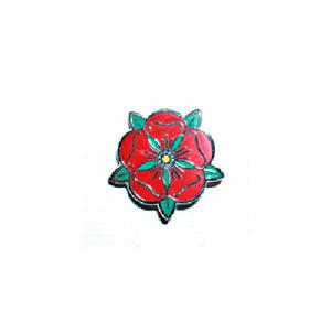 ピンバッジ:イングランド 赤薔薇