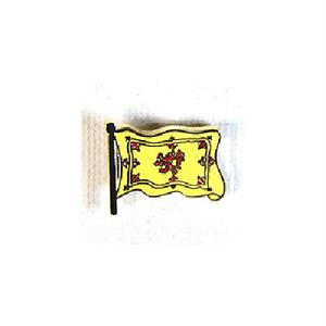 ピンバッジ:スコットランド 獅子の旗