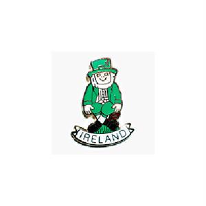 ピンバッジ:アイルランド レプラコーン