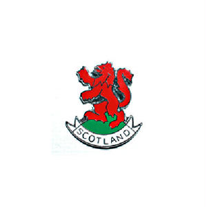 ピンバッジ:スコットランド 赤い獅子
