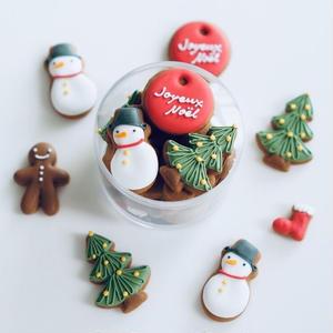 Joyeux Noël(アイシングクッキー+型抜クッキー)発送は12月7日以降の指定日