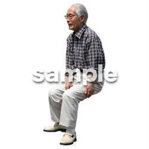 人物切抜き素材 シニアライフ編 R_477