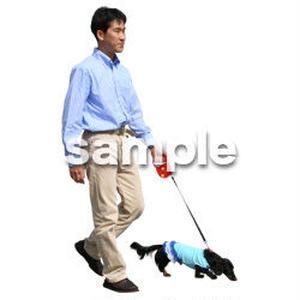 人物切抜き素材 リビング・散歩編 I_365