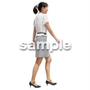 人物切抜き素材 ベーシックファッション編 P_174