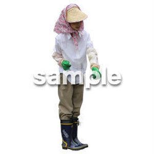 農作業 女性 NO_06