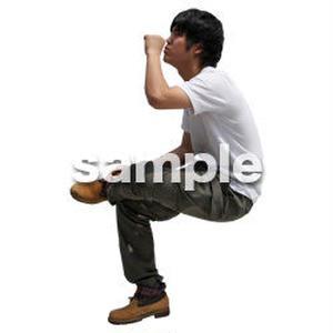 人物切抜き素材 レジャー・ショッピング編 L_483