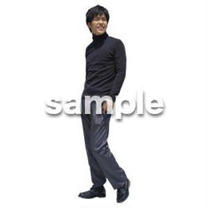 人物切抜き素材 ベーシックファッション編 P_492