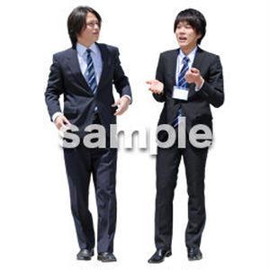 人物切抜き素材 ベーシックファッション編 P_076