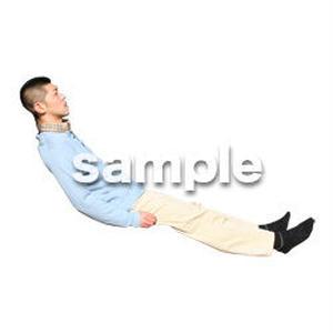 人物切抜き素材 医療・シニア車椅子編 D_207