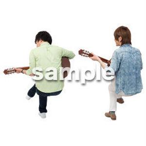 Cutout People ハイクラス 音楽演奏 HH_440