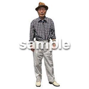 人物切抜き素材 シニアライフ編 R_251