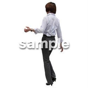 人物切抜き素材 ベーシックファッション編 P_144
