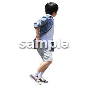 人物切抜き素材 キッズ・スクール編 O_277