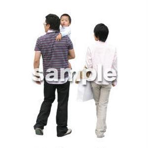 人物切抜き素材 カジュアル・ショッピング編 E_160