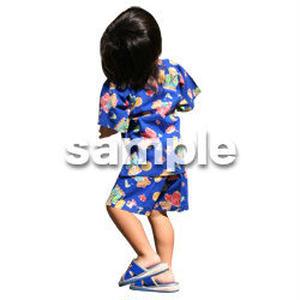 人物切抜き素材 夏服・フィットネス編 J_062