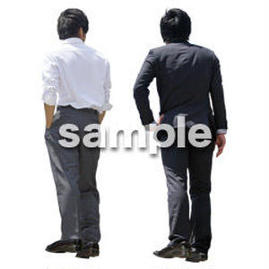 Cutout People ビジネス-日本人 EE_595