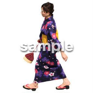 人物切抜き素材 夏服・フィットネス編 J_037