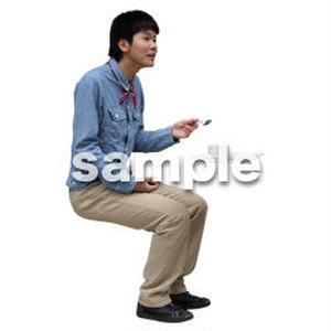 人物切抜き素材 レジャー・ショッピング編 L_473