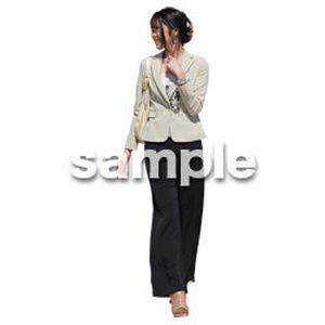 人物切抜き素材 ベーシックファッション編 P_151
