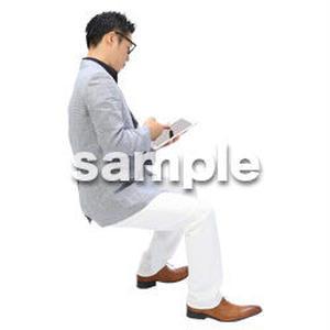 Cutout People ビジネス-日本人 EE_498