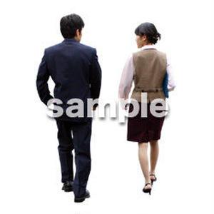 人物切抜き素材 男性女性編 A_054