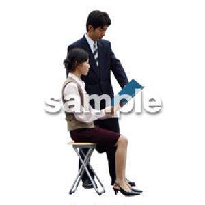 人物切抜き素材 男性女性編 A_057