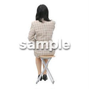 人物切抜き素材 医療・シニア車椅子編 D_232