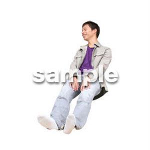 人物切抜き素材 医療・シニア車椅子編 D_209