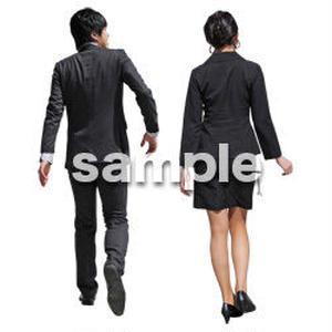 人物切抜き素材 ベーシックファッション編 P_065