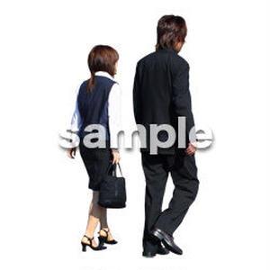 人物切抜き素材 男性女性編 A_045