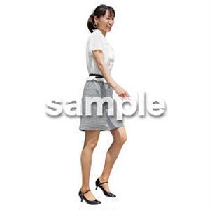 人物切抜き素材 ベーシックファッション編 P_173