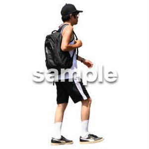 人物切抜き素材 リビング・散歩編 I_129