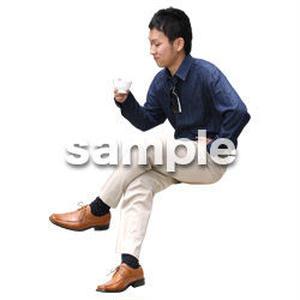 人物切抜き素材 アーバン・ショッピング編 M_486