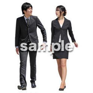 人物切抜き素材 ベーシックファッション編 P_061
